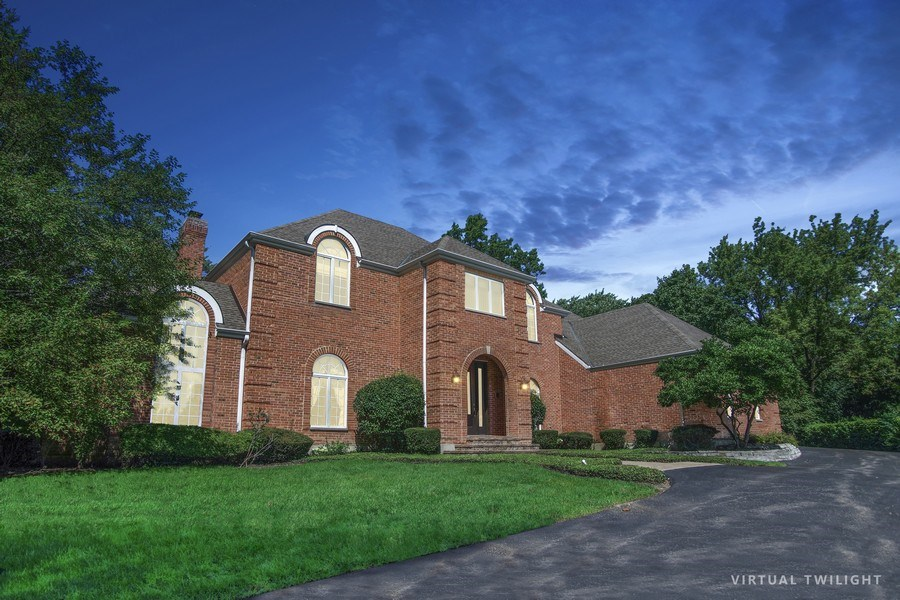 Real Estate Photography - 712 Milton Road, Inverness, IL, 60067 - Front View