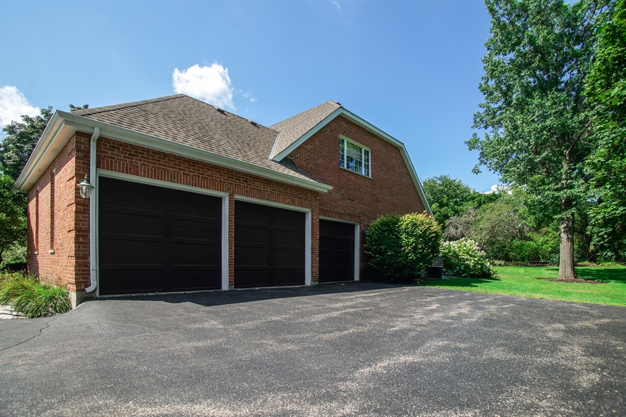 Real Estate Photography - 712 Milton Road, Inverness, IL, 60067 - Side View