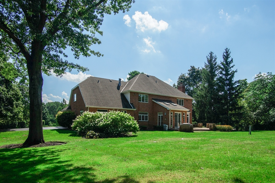 Real Estate Photography - 712 Milton Road, Inverness, IL, 60067 - Rear View