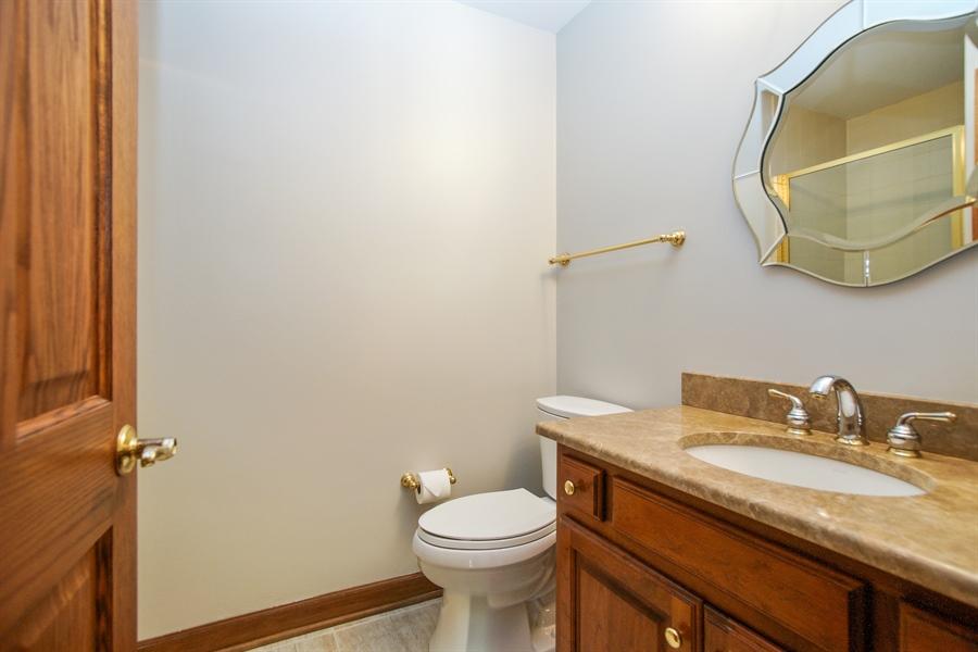 Real Estate Photography - 712 Milton Road, Inverness, IL, 60067 - Half Bath