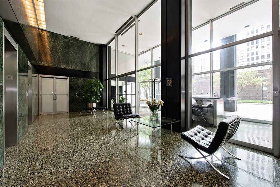 Real Estate Photography - 900 N. LAKE SHORE Drive, Unit 1510, Chicago, IL, 60611 - Lobby