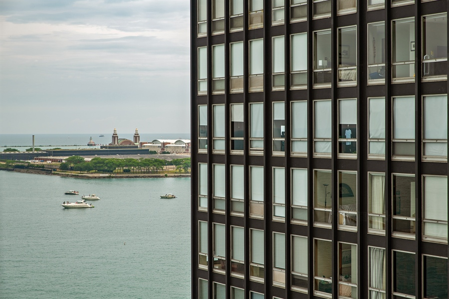 Real Estate Photography - 900 N. LAKE SHORE Drive, Unit 1510, Chicago, IL, 60611 - View