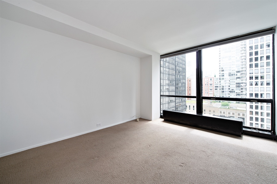 Real Estate Photography - 900 N. LAKE SHORE Drive, Unit 1510, Chicago, IL, 60611 - Bedroom