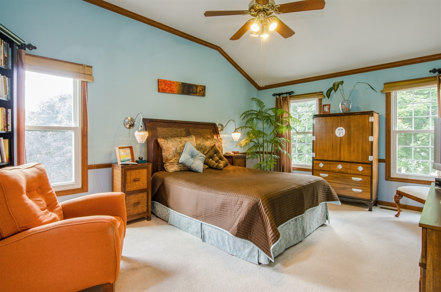 Real Estate Photography - 6 White Oak Court, Algonquin, IL, 60102 - Master Bedroom