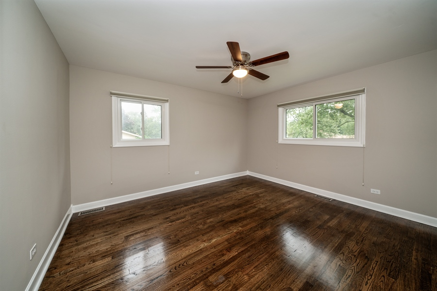 Real Estate Photography - 21W155 Everest Road, Lombard, IL, 60148 - Master Bedroom