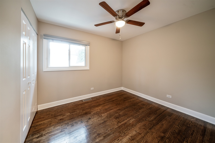 Real Estate Photography - 21W155 Everest Road, Lombard, IL, 60148 - 2nd Bedroom