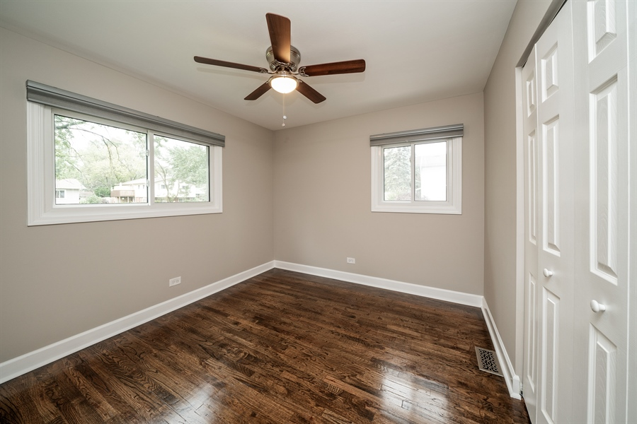 Real Estate Photography - 21W155 Everest Road, Lombard, IL, 60148 - 3rd Bedroom