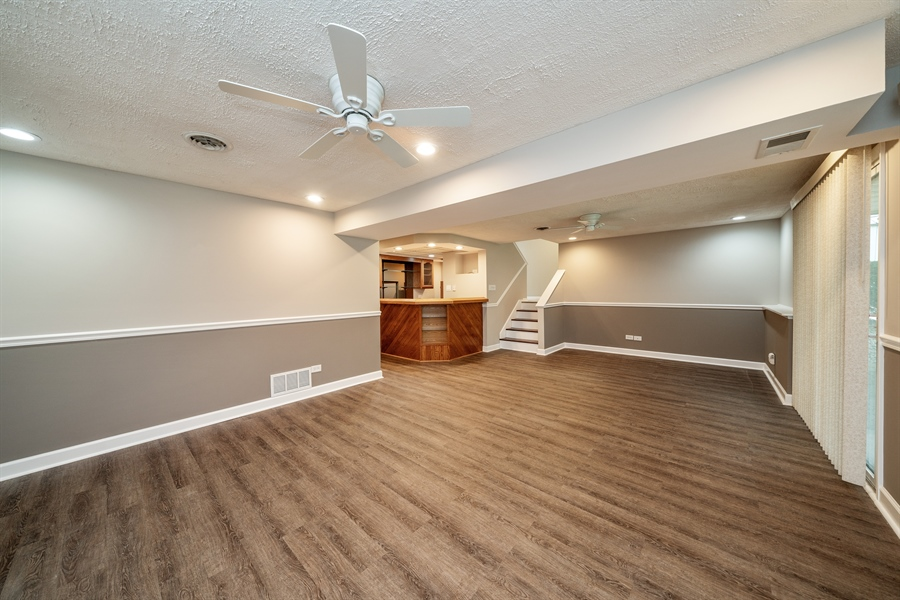 Real Estate Photography - 21W155 Everest Road, Lombard, IL, 60148 - Family Room