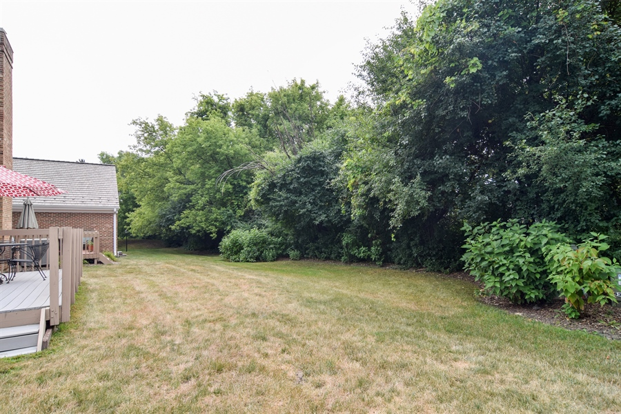 Real Estate Photography - 1449 Shire Circle, Unit 11, Inverness, IL, 60067 - Back Yard