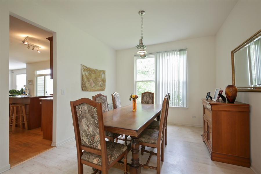 Real Estate Photography - 421 Farnsworth Circle, Port Barrington, IL, 60010 - Dining Room