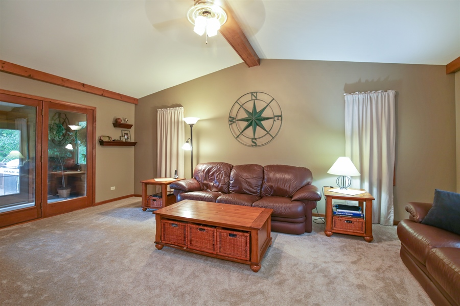 Real Estate Photography - 18N580 Spring Bluff Drive, Dundee, IL, 60118 - Living Room