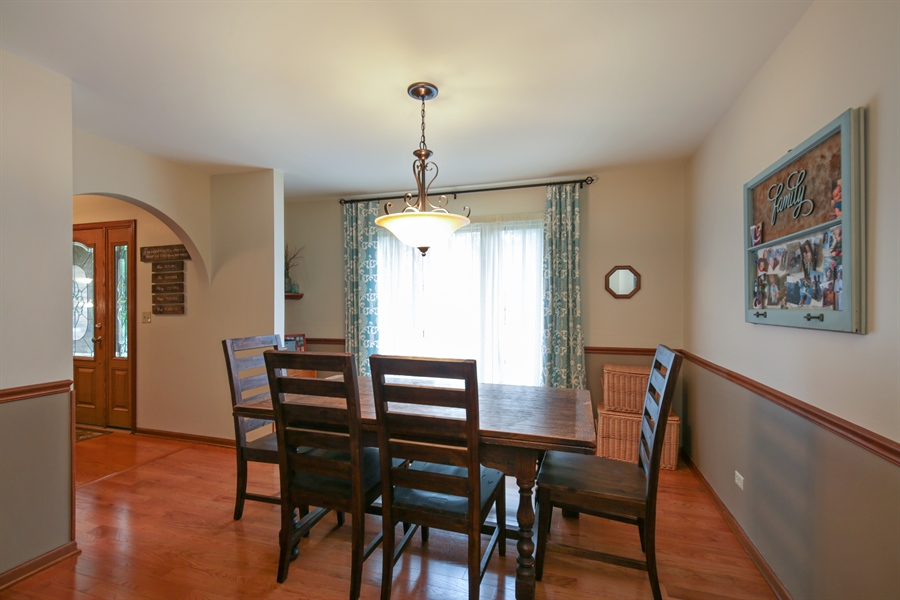 Real Estate Photography - 18N580 Spring Bluff Drive, Dundee, IL, 60118 - Dining Room
