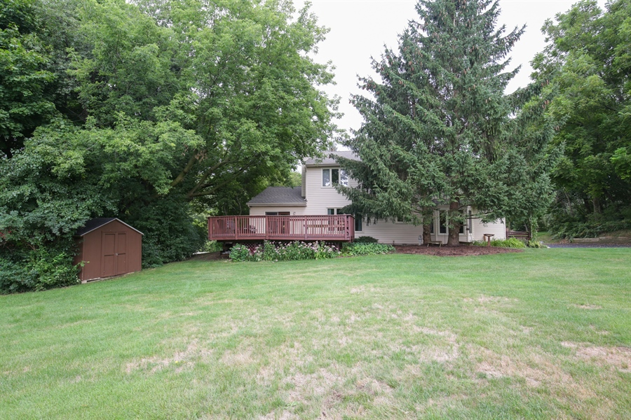 Real Estate Photography - 18N580 Spring Bluff Drive, Dundee, IL, 60118 - Rear View