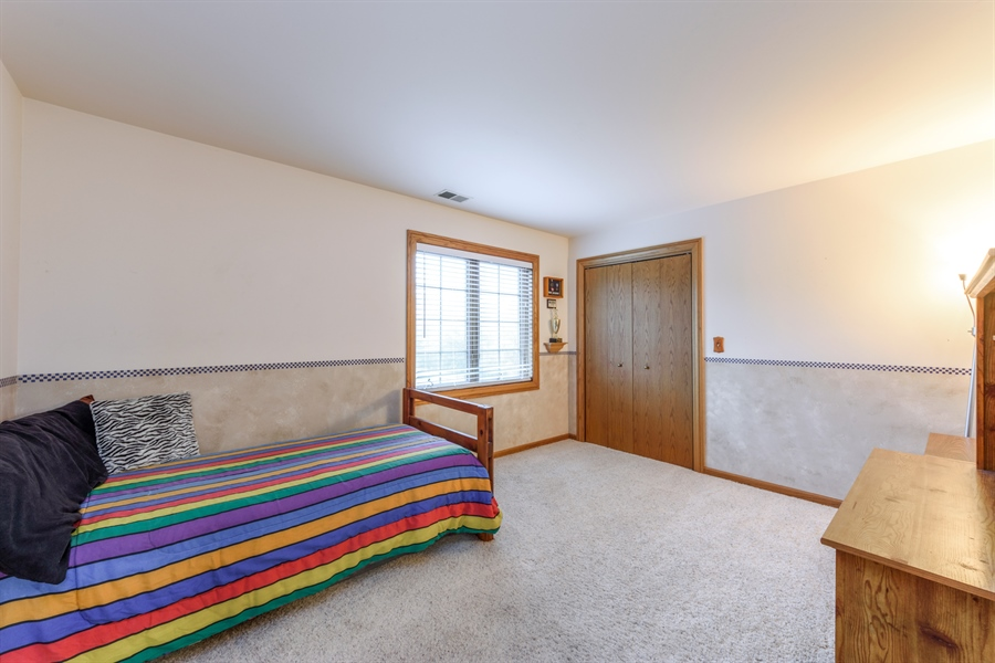 Real Estate Photography - 105 Stone Marsh Lane, Barrington, IL, 60010 - 2nd Bedroom