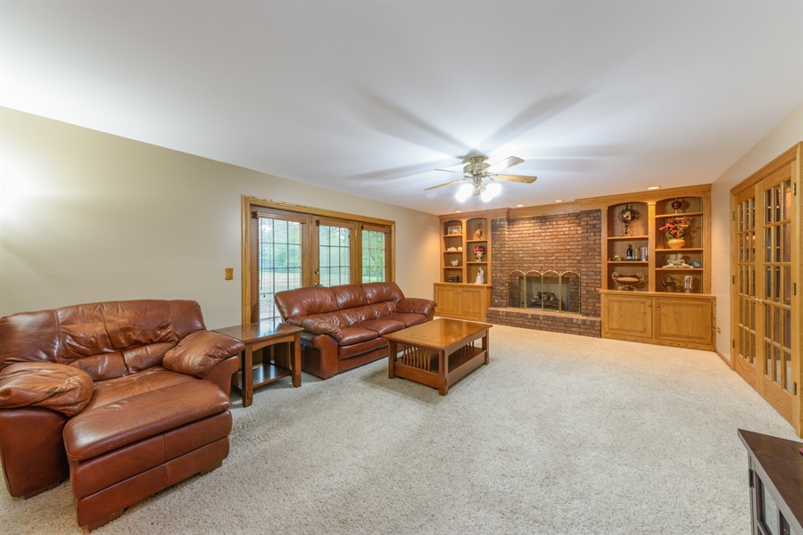 Real Estate Photography - 105 Stone Marsh Lane, Barrington, IL, 60010 - Family Room
