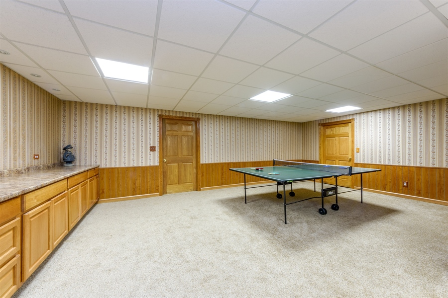 Real Estate Photography - 105 Stone Marsh Lane, Barrington, IL, 60010 - Game Room