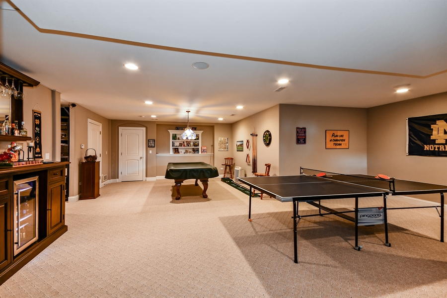 Real Estate Photography - 1404 ROYAL ST. GEORGE Drive, Naperville, IL, 60563 - Name your game, there is room for it!