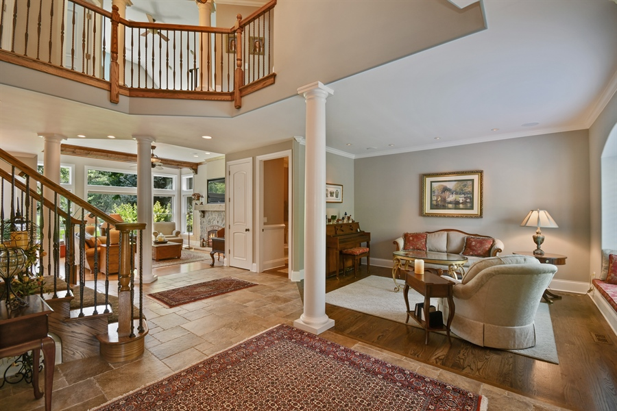 Real Estate Photography - 1404 ROYAL ST. GEORGE Drive, Naperville, IL, 60563 - Free flowing floor plan w/amazing millwork!