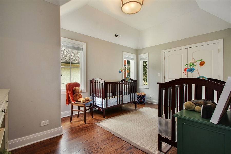 Real Estate Photography - 554 Orchard Lane, Winnetka, IL, 60093 - 3rd Bedroom