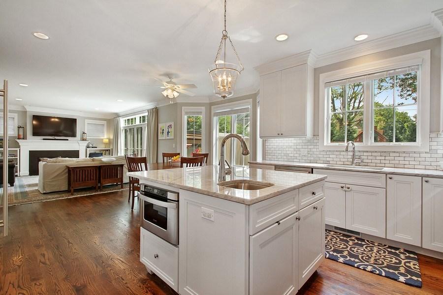 Real Estate Photography - 554 Orchard Lane, Winnetka, IL, 60093 - Kitchen