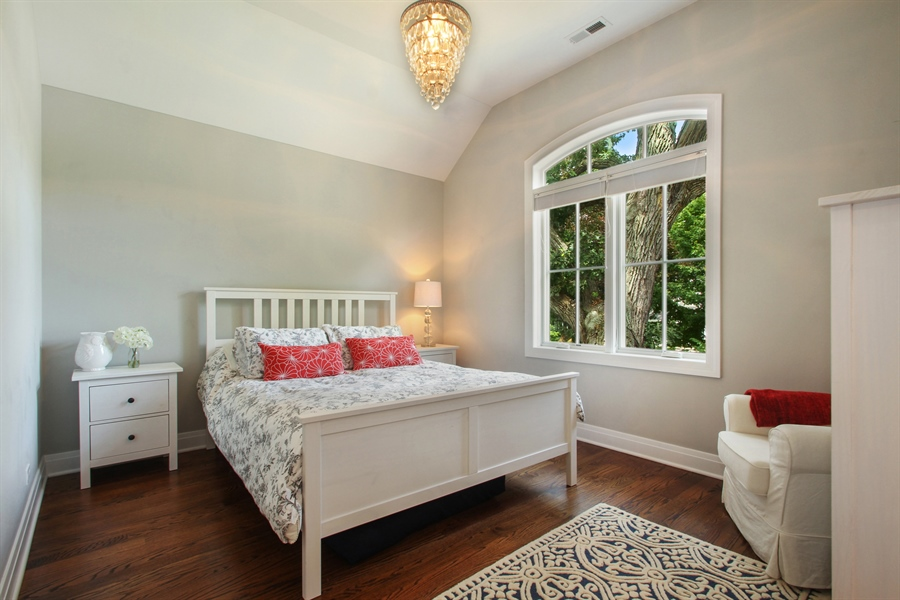 Real Estate Photography - 554 Orchard Lane, Winnetka, IL, 60093 - Bedroom 4