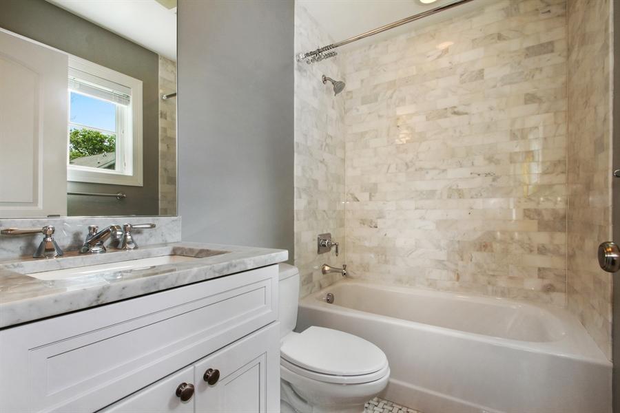 Real Estate Photography - 554 Orchard Lane, Winnetka, IL, 60093 - 2nd Bathroom