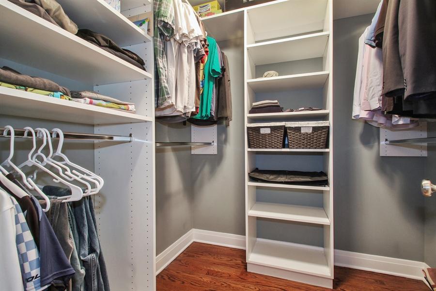 Real Estate Photography - 554 Orchard Lane, Winnetka, IL, 60093 - Master Bedroom Closet #2
