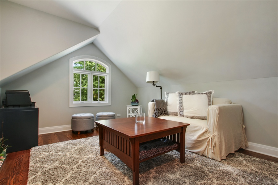 Real Estate Photography - 554 Orchard Lane, Winnetka, IL, 60093 - 5th Bedroom/Office