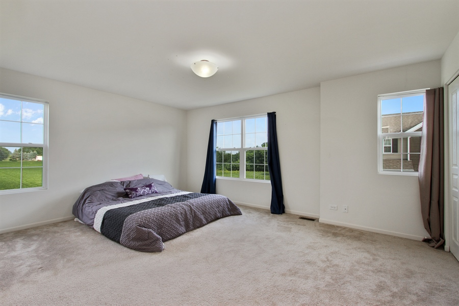 Real Estate Photography - 1098 Piccolo Lane, Volo, IL, 60073 - Master Bedroom