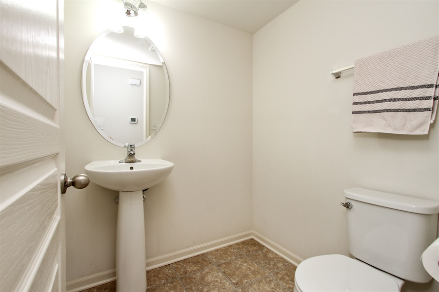 Real Estate Photography - 1098 Piccolo Lane, Volo, IL, 60073 - Powder Room