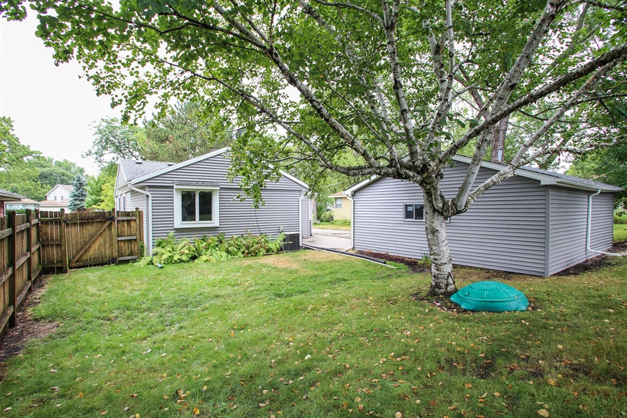 Real Estate Photography - 3506 Thrush Lane, Rolling Meadows, IL, 60008 - Rear View