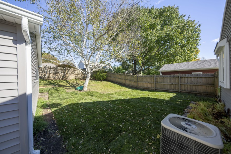 Real Estate Photography - 3506 Thrush Lane, Rolling Meadows, IL, 60008 - Back Yard