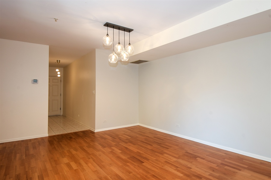 Real Estate Photography - 2601 Central St, 301, Evanston, IL, 60201 - Dining Room