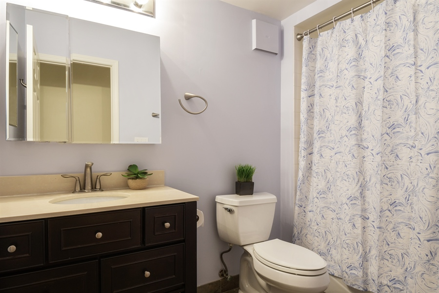Real Estate Photography - 2601 Central St, 301, Evanston, IL, 60201 - Bathroom