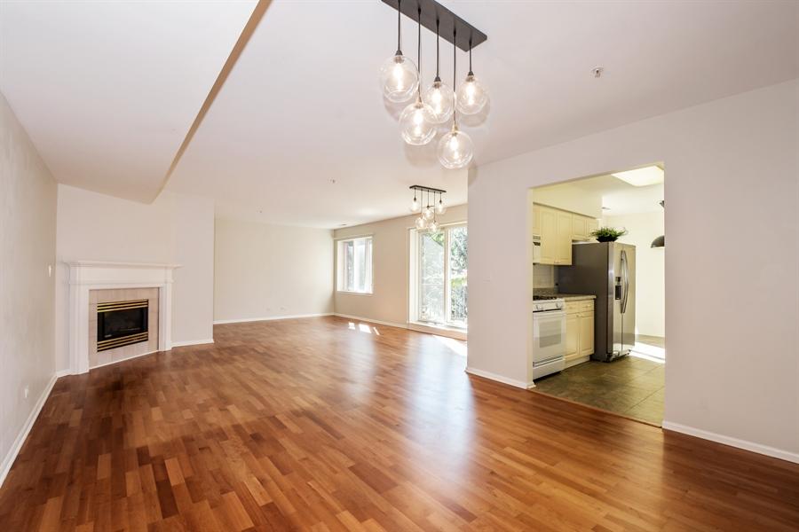Real Estate Photography - 2601 Central St, 301, Evanston, IL, 60201 - Living Room/ Dining Room/ Den