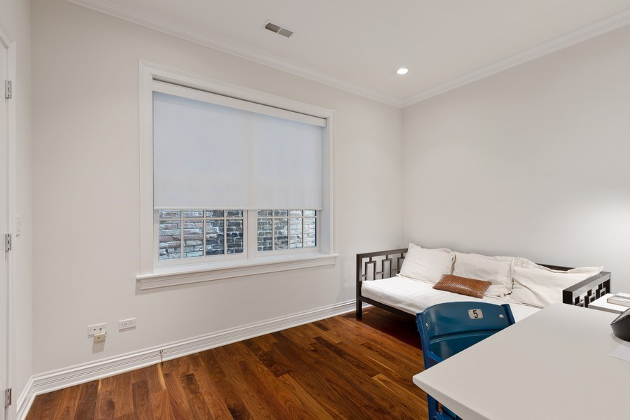 Real Estate Photography - 2030 N. Dayton Street, Chicago, IL, 60614 - 3rd Bedroom