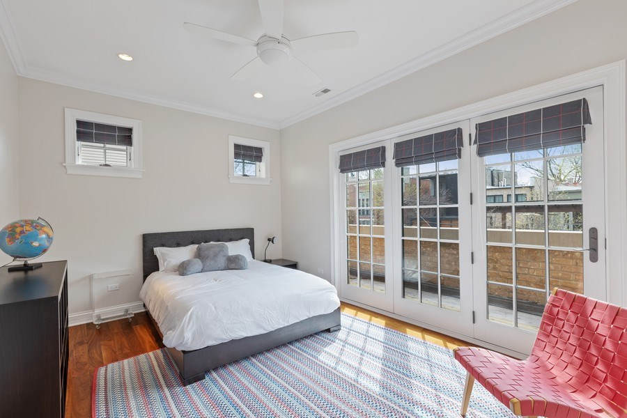 Real Estate Photography - 2030 N. Dayton Street, Chicago, IL, 60614 - 4th Bedroom