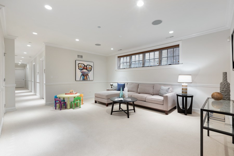 Real Estate Photography - 2030 N. Dayton Street, Chicago, IL, 60614 - Lower Level