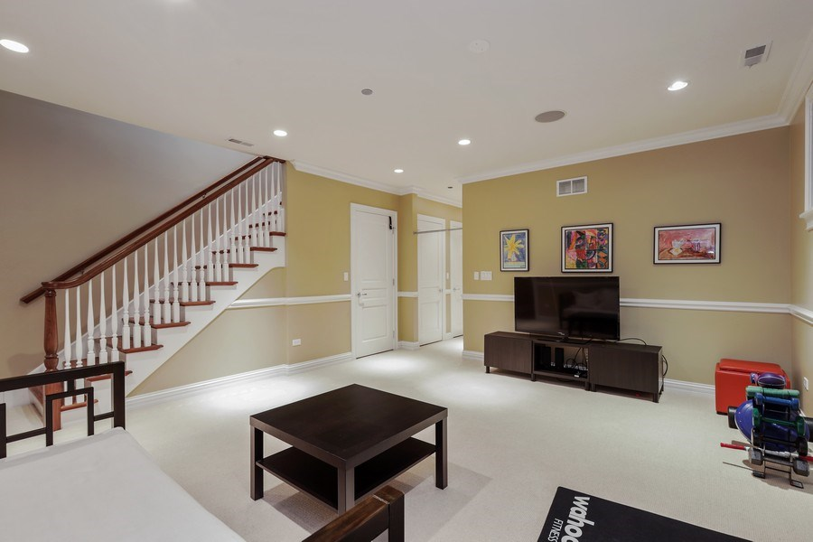 Real Estate Photography - 2030 N. Dayton Street, Chicago, IL, 60614 - Recreation Room