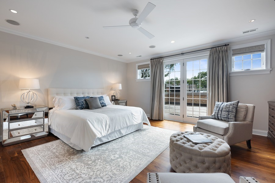 Real Estate Photography - 2030 N. Dayton Street, Chicago, IL, 60614 - Master Bedroom