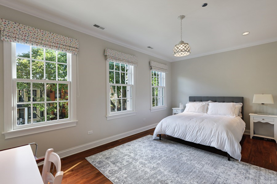 Real Estate Photography - 2030 N. Dayton Street, Chicago, IL, 60614 - Bedroom