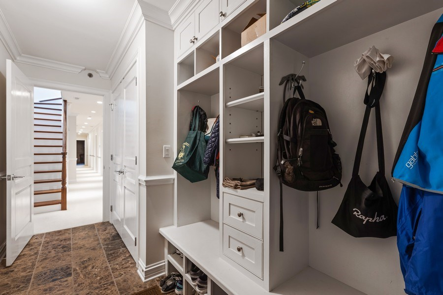 Real Estate Photography - 2030 N. Dayton Street, Chicago, IL, 60614 - Mudroom