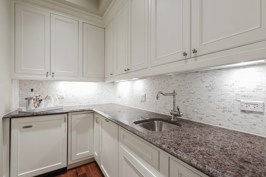 Real Estate Photography - 2030 N. Dayton Street, Chicago, IL, 60614 - Butler's pantry