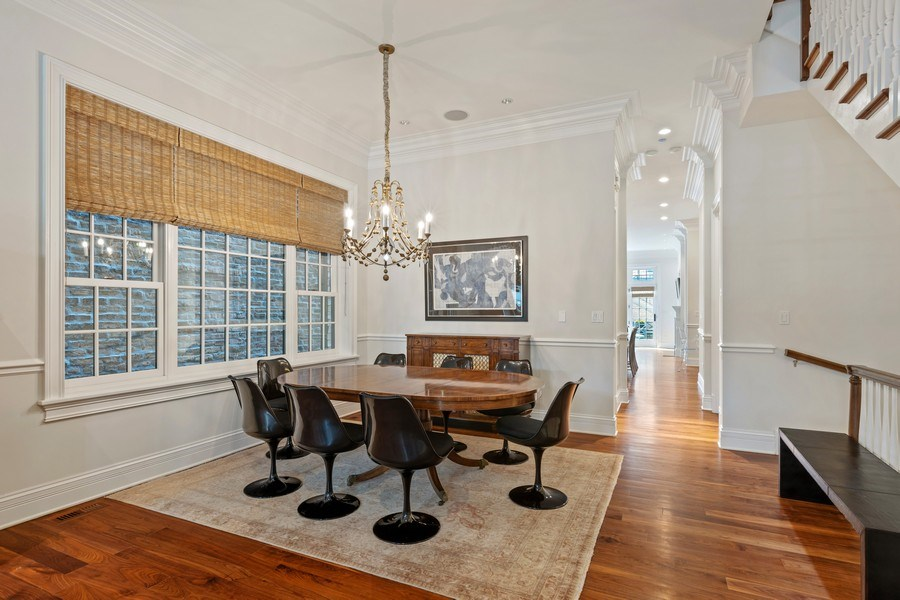 Real Estate Photography - 2030 N. Dayton Street, Chicago, IL, 60614 - Dining Room