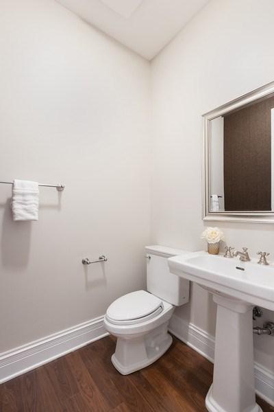 Real Estate Photography - 2030 N. Dayton Street, Chicago, IL, 60614 - Powder Room