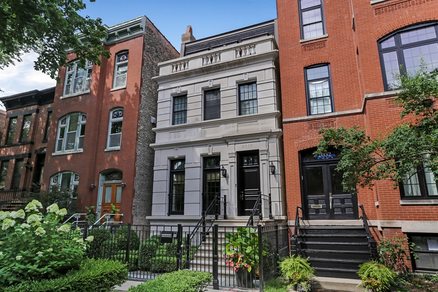 Real Estate Photography - 2030 N. Dayton Street, Chicago, IL, 60614 - Front View