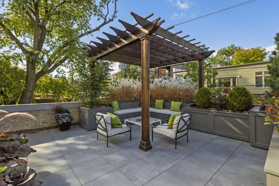 Real Estate Photography - 2030 N. Dayton Street, Chicago, IL, 60614 - Garage Roof Deck