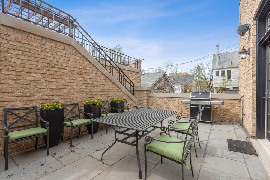 Real Estate Photography - 2030 N. Dayton Street, Chicago, IL, 60614 - Patio