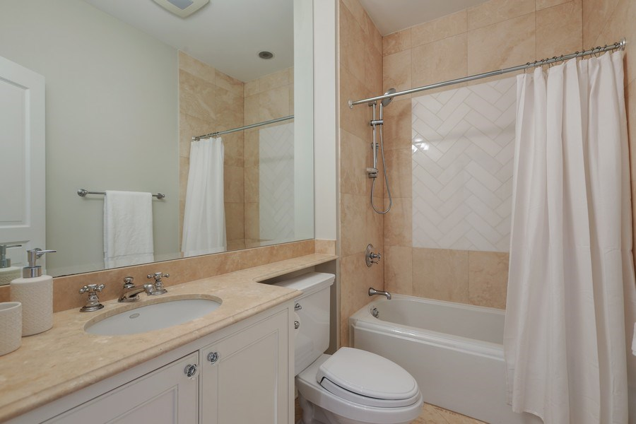 Real Estate Photography - 2030 N. Dayton Street, Chicago, IL, 60614 - En-Suite Bathroom