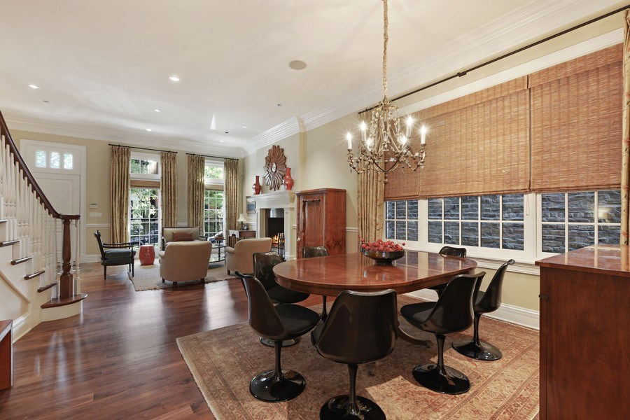 Real Estate Photography - 2030 N. Dayton Street, Chicago, IL, 60614 - Living Room / Dining Room